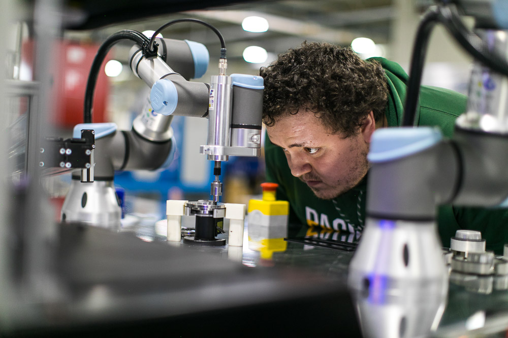 robotizované pracoviská