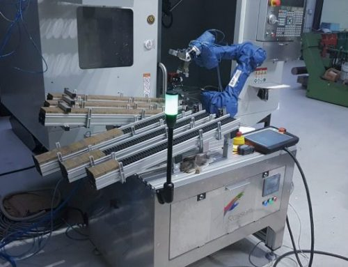 Automatizácia stroja HAAS DM-2 pre Allex s. r. o.