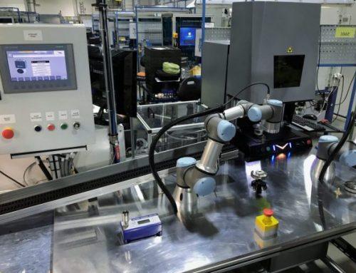 Automatické značenie, skrutkovanie a manipulácia pre Booster Precision s.r.o.